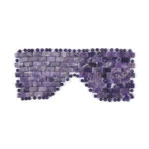 Amethyst Crystal Eye Mask