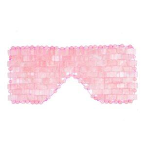 Rose Quartz Crystal Eye Mask